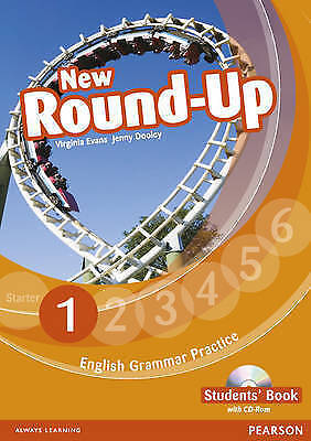 Pearson NEW ROUND-UP 1 English Grammar Practice STUDENT'S BOOK with CD-ROM New