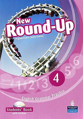 Pearson NEW ROUND-UP 4 English Grammar Practice STUDENT'S BOOK with CD-ROM @New@
