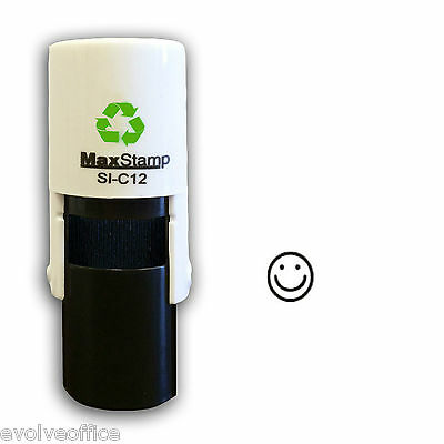 Loyalty Card Stamp Professional Quality Self Inking with Smiley Face image