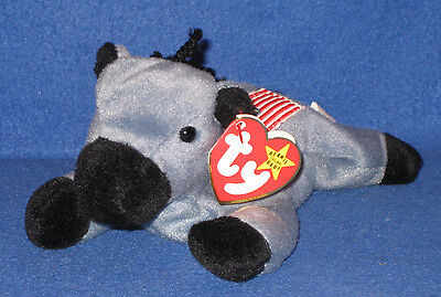 TY ORIGINAL LEFTY the DONKEY BEANIE BABY - MINT with MINT TAG
