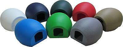HEATED pet outdoor plastic moulded cat pod sun shelter kennel house rabbit
