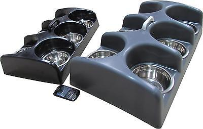 Puppy feeder dog whelping box weaning dish individual 6 bowl seperated feeding