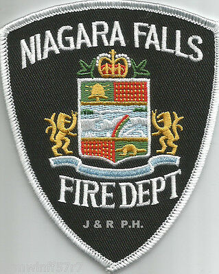 "Niagara Falls, Ontario, Canada  (old style)  (3.5"" x 4.25"" size)  fire patch"