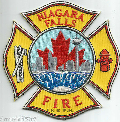 "Niagara Falls, Ontario, Canada  (new style)  (4"" x 4"" size)  fire patch"