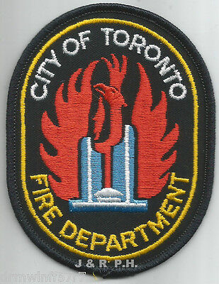 "Toronto, Ontario, Canada  (3.25"" x 4"" size)  fire patch"