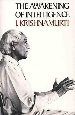 The Awakening of Intelligence by J. Krishnamurti Paperback Book (English)