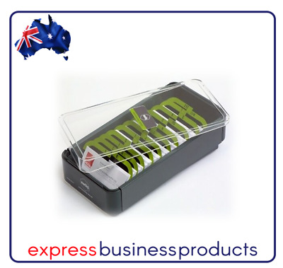Professional Series Business Card Filing Boxes with Index - AA87036