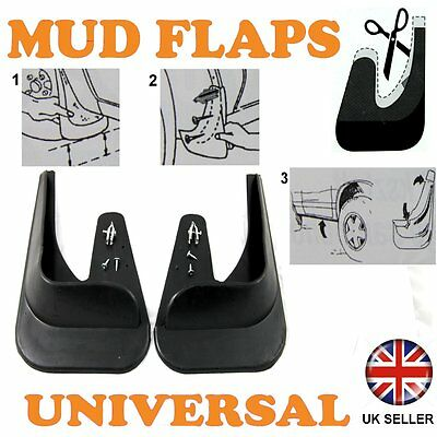 2T For Hyundai Galloper Rear Surubber Moulded Mudflaps Mud Flaps
