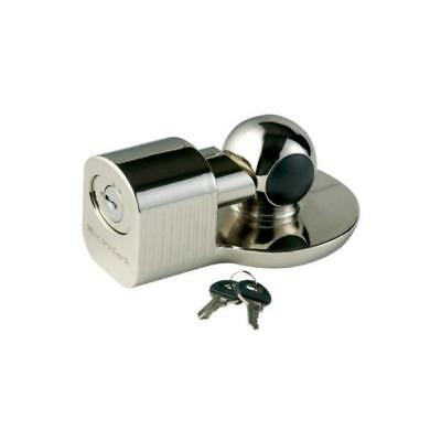 Master Lock 377DAT Universal Trailer Coupler, Chrome