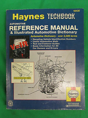Haynes  techbook automotive reference Repair Manual- Specialized 10430