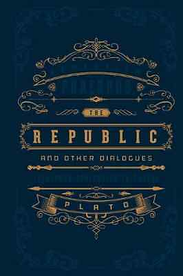 Republic and Other Dialogues, The (Barnes & Noble Leath - Hardcover NEW Plato 20