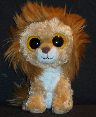 TY BEANIE BOOS BOO'S - KING the LION - NO HANG TAG