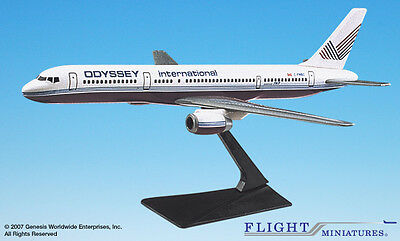 Flight Miniatures Odyssey International Airlines Boeing 757-200 1/200 Scale New