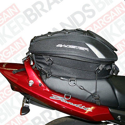 Bagster Spider Rear Tail Pack / Seat Bag - expands from 15ltr to 23ltr