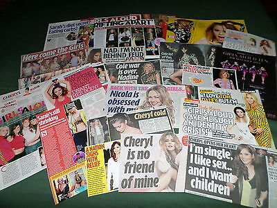 Girls Aloud  - Music  - Clippings /cuttings Pack