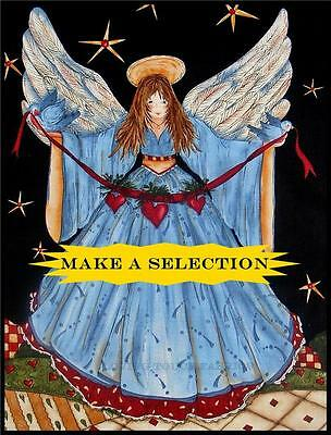 SSI ANGELS FROM ABOVE CHRISTMAS VICTORIAN ANGEL FABRIC PANELS (MAKE A SELECTION)