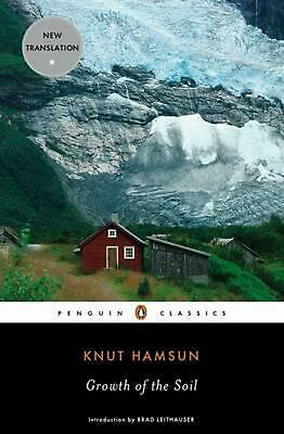 Growth of the Soil by Knut Hamsun (English) Paperback Book Free Shipping!