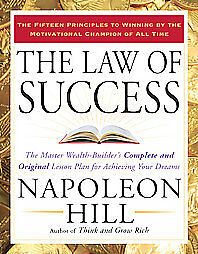 THE LAW OF SUCCESS [9781585426898] - NAPOLEON HILL (PAPERBACK) NEW
