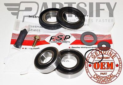 MAH5500BWW Genuine OEM Fits Maytag Washer Rear Drum Bearing & Seal Repair Kit