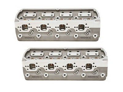 Brodix LH F17 Series 17° Ford Cylinder Heads **PRICE IS FOR A PAIR **