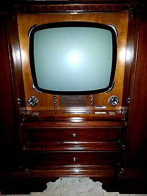 Mobile Tv Televisore Space Age Design Vintage Epoca Anni 50 60 70 Germanvox Wega