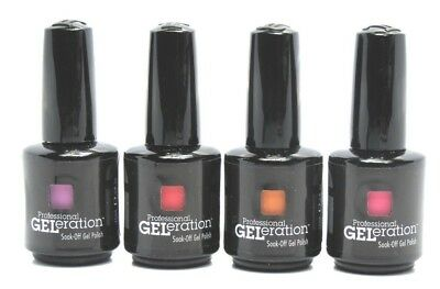 Jessica Geleration Nail Gel Polish 2014 Fall Collection Set Of 4