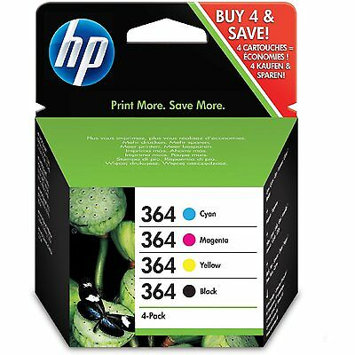 SD534EE SD534EE Cartouches d'encre cyan/magenta/jaune/noire HP 364