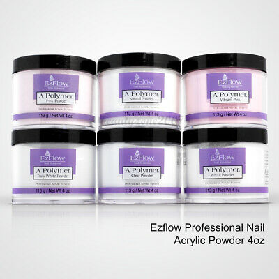 Ezflow Professional Acrylic Powder 4oz *Chose any 1*