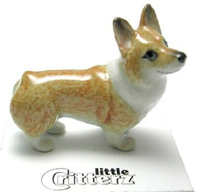 "LC949 - Little Critterz - ""Sasha"" a Pembroke Corgi (Buy 5 get 6th free!)"