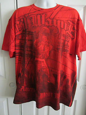 HOT TOPIC Lil Wayne America/'s Most Wanted  Print All Over T-Shirt