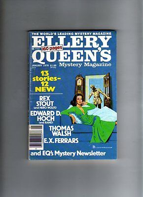 Ellery Queen's - Mystery Magazine- Jan 1978 # 410