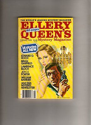 Ellery Queen's - Mystery Magazine -Feb 1978 # 411