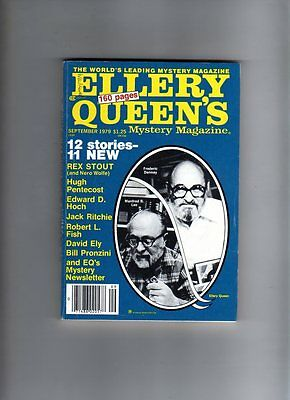 Ellery Queen's - Mystery Magazine - Sept 1979 # 430
