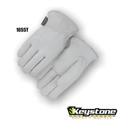 Majestic Grain Goatskin Thinsulate Lined Winter Glove Driver Style 1655T Medium