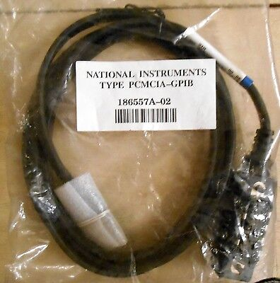 National Instruments PCMCIA-GPIB Cable Model # 186557A--02