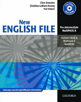 Oxford NEW ENGLISH FILE Pre-Intermediate MultiPACK B (Files 5-9) w MultiROM @New