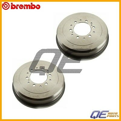 2 Rear Brake Drums Brembo New Fits: Toyota 4Runner Pickup T100 Tacoma Tundra