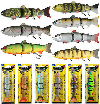 "SPRO Swimbait BBZ-1 6"" 15cm floating/slow sink/fast sink -alle Farben- Wobbler"