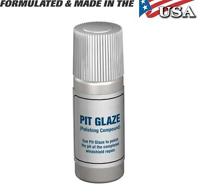 Windshield Repair Pit Glaze / Pit Polish Windshield Repair Systems