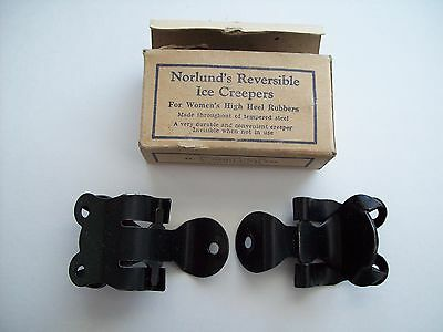 Vintage Norlund's Reversible Ice Creepers Women's High Heel rubbers