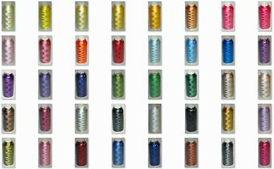 Marathon Embroidery Machine Thread Rayon 1000m Choice Of Most Popular Colours