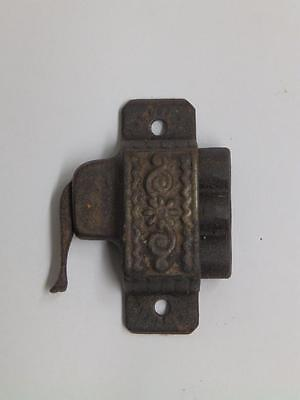 Antique Window Sash Lock Cast Iron Eastlake Vintage Latch Catch Hardware 2932-14