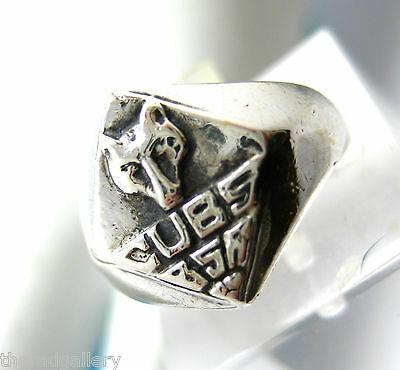 Sterling Silver - Boy Scouts Of America Cubs - Size 4 - 3.7g Rare Hard to Find