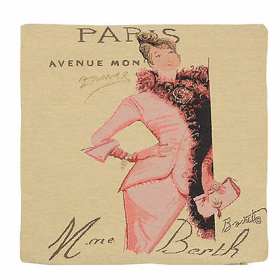 "Wholesale Job Lot 10x Cushion Covers Designer ""Paris"" Tapestry 18"" (45cm) New"