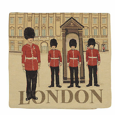 "Wholesale Job Lot 10x Cushion Covers Designer ""London"" Tapestry 18"" (45cm) New"