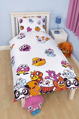 Mind Candy Moshi Monsters Moshling Single & Double Duvet Set With Pillowcase