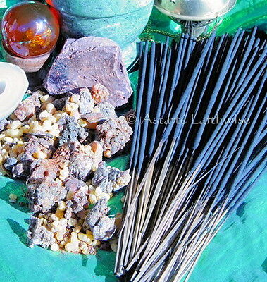 ASTRAL TRAVEL - 20 x HAND ROLLED INCENSE STICKS - Wicca Pagan Witch Goth Spell