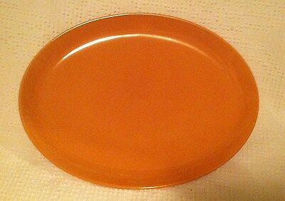 Russel Wright iroquois Casual Cantaloupe Pattern Medium Platter 12-1/2""