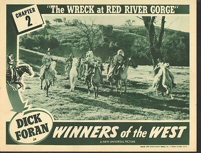 Winners of the West - Classic Movie Cliffhanger Serial DVD Dick Foran