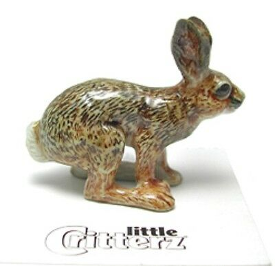 """LC155 - Cottontail Bunny  """"Freeze"""" - Little Critterz (Buy any 5 get 6th free!)"""